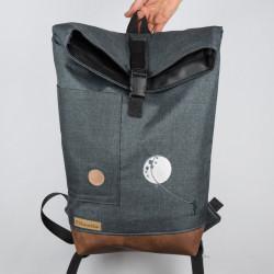 Městský batoh vyšívaný -...