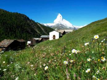 Zermatt - ubytování doporučuje Péťaholka